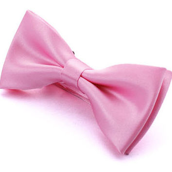 Tok Tok Designs Baby Bow Tie for 14 Months or Up (BK8, Light Pink)