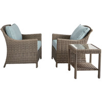 Laguna 3-Piece Chat Set