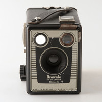 Kodak Brownie Six-20 Model C 620 Roll Film Box Camera with Instructions | eBay