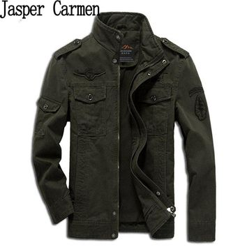 AFS Jeep Men's Military Style Plus Size Jacket/Coat