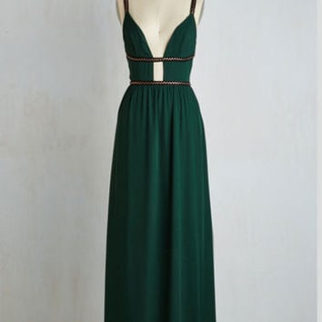Long Maxi Captivating Company Dress