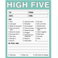 HIGH FIVE NOTEPAD
