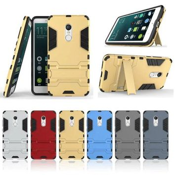 For Xiaomi Redmi 3X 3S Note 3 4 Pro mi4 mi4s mi4c Mi5 Mi5S Plus Case Hybrid Heavy Duty Shock Proof Armor Cover with Stand Case