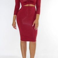 Brick Holiday Dress Set