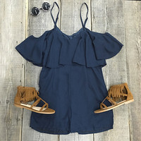 Cupshe Fresh Air Solid Color Romper