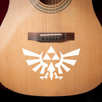 Legend of Zelda Hylian Crest Vinyl Decal