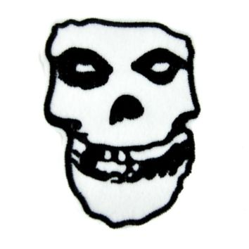 ac spbest Misfits Skull Patch Iron on Applique Glenn Danzig