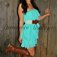 DOWN SOUTH DRESS IN MINT