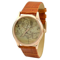 Vintage Map Watch (Middle Earth)