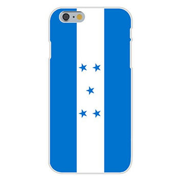 Apple iPhone 6 Custom Case White Plastic Snap On - Honduras - World Country National Flags