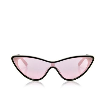 Monroe Cat Eye Sunglasses - Black/Pink