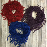 Wherever Yo Go Infiniti Scarf: Multiple Colors