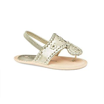 Baby Jacks in Platinum by Jack Rogers