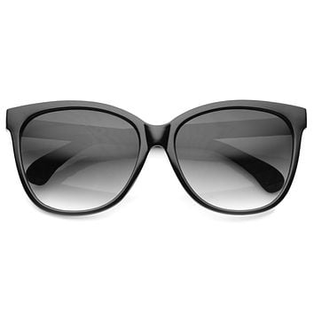 Elegant Women's 1950's Retro Oversize Cat Eye Sunglasses 9744