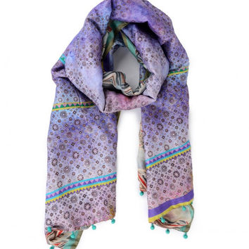 Mauve Shaded Scarf
