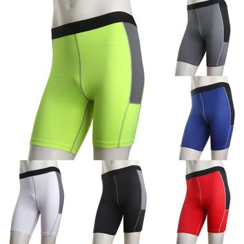 Men's Compression Under Layer Sportwear Tights Short Pants Skin Armour Shorts