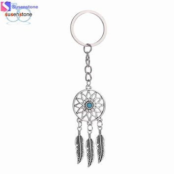 Dreamcatcher Feather Tassel Keychain