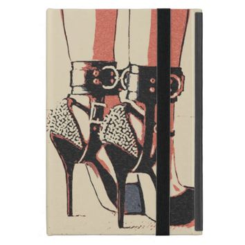 Good girl knows what to wear sexy cuffs bondage iPad mini covers