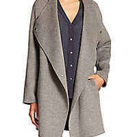 Vince - Two-Tone Wool Jacket - Saks Fifth Avenue Mobile
