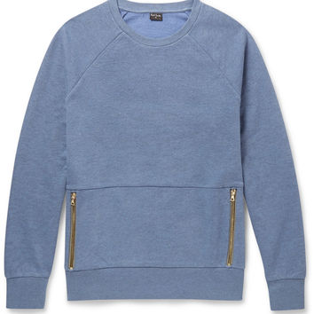 PS by Paul Smith - Cotton-Blend Sweatshirt | MR PORTER