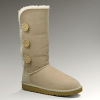 UGG Bailey Button Triplet Boots 1873 Sand