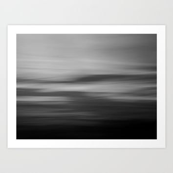Sea & Sy abstract Art Print by Lena Weiss