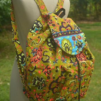 Tribal Backpack Painted Bag Tribal Weekender bag Boho Hippie Ethnic Nepali Indian Hipster Bags Hippie Purse Gypsy Shoulder Weekender Bag HIP