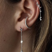 Rue Gembon - Rue Gembon Andie Silver Star Earrings