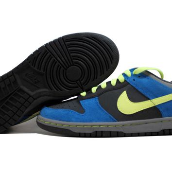 Nike Dunk Low Anthracite/Volt-Blue Sapphire 310569-074