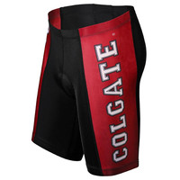 Colgate Red Raiders NCAA Flat Seam Cycling Shorts