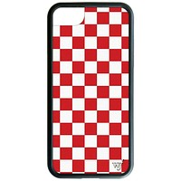 Red Checkers iPhone 6/7/8 Case