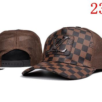 LV embroidery Strap Cap Adjustable Golf Snapback Baseball Hat