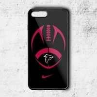 Atlanta Falcon NFL Football Phone Case For iPhone 6 6+ 6s 6s+ 7 7+ 8 8+ X Cover