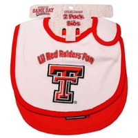 Texas Tech University 2-Pack Infant Bib