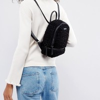 ALDO Anancoedo Faux Shearling Mini Backpack at asos.com