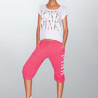 Campus Crop Pant - PINK - Victoria's Secret