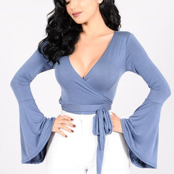 Desi Top - Blue