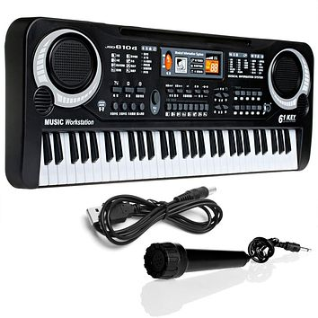 61 Keys Digital Music Electronic Keyboard Gift Electric Piano Gift