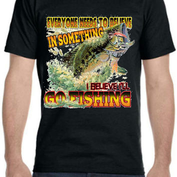 Custom Splashing Bass Fishing T Shirt in Men, Women, and Juniors sizes