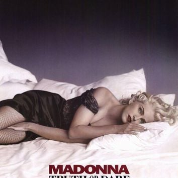 Madonna Truth or Dare 27x40 Movie Poster (1991)