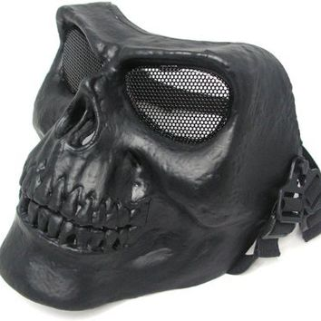 Army Of Two Skull Airsoft Mask Black Rios BK