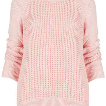 Knitted Mix Stitch Jumper - New In This Week  - New In