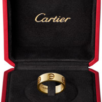 LOVE ring: LOVE ring, 18K yellow gold.