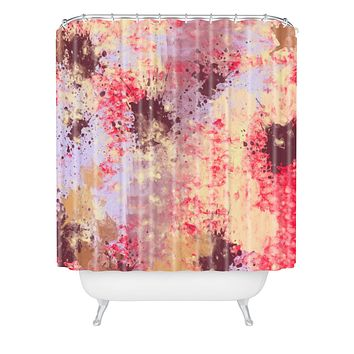 Amy Smith Sweet Grunge Shower Curtain