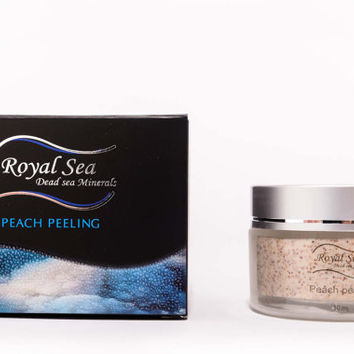 Royal Sea Dead Sea Minerals Peach Grain Peeling Removes Dead Cells 50ml / 1.7oz