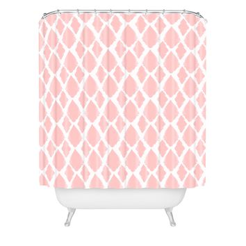 Allyson Johnson Blushed iKat Shower Curtain