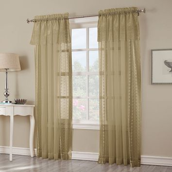 Bonnie Macrame Sheer Curtain