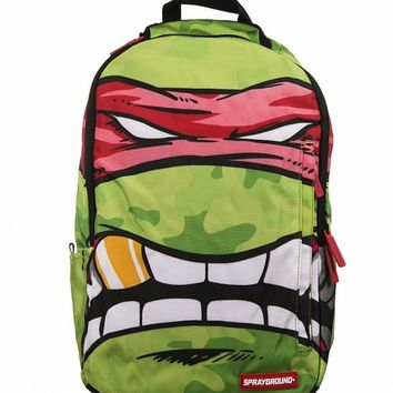 Teenage Mutant Ninja Turtles Grillz Raphael DLX Backpack From Sprayground : TruffleShuffle.com
