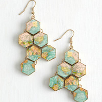 Quirky No Place Like Roam Earrings by ModCloth