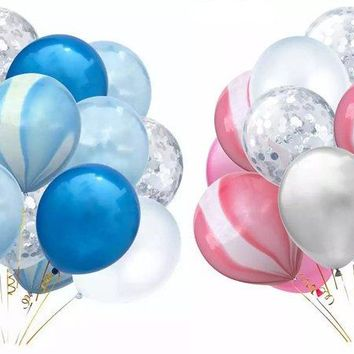 PINK SILVER Balloons-Blue Silver Balloons, Blue Swirl Balloons, Pink Swirl Balloon, Princess Balloons, Baby Shower Balloons, Pink Birthday